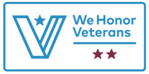 We Honor Veterans Level Two Partner Logo